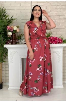 Платья Волан цветы  / Волан цветы