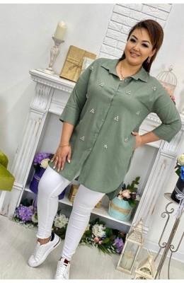 Блузки Рубашке стразы / Рубашка стразы