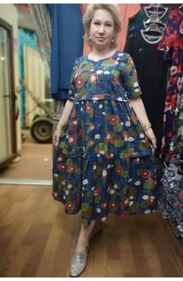 Платья Марлёвка цветы  / Марлёвка цветы