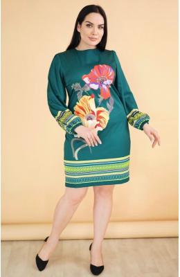 платье роспись