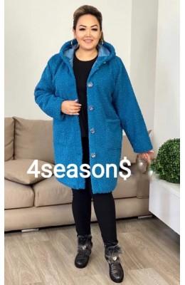 Пальто теплое Тедди